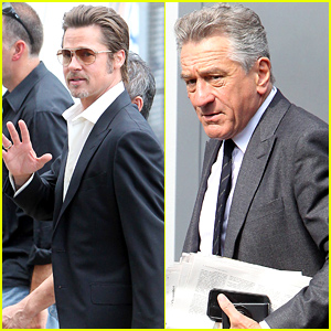 Brad Pitt, Leonardo DiCaprio, & Robert De Niro Starring in a Martin Scorsese-Directed Short Film!
