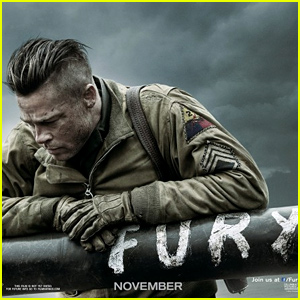 Brad Pitt's 'Fury' Moves Up Its Release Date By One Month!