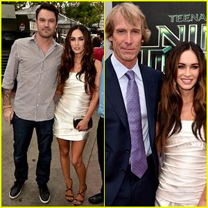 Brian Austin Green Supports His Wife Megan Fox at 'Teenage Mutant Ninja Turtles' Premiere!
