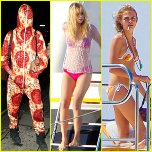 Cara Delevingne & Suki Waterhouse Soak Up the Sun in Ibiza!