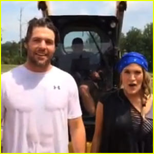 Carrie Underwood Takes ALS Ice Bucket Challenge to New Level