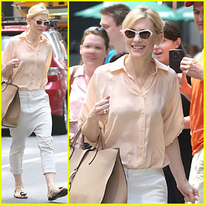 Cate Blanchett Pulls a Justin Bieber with Drop Crotch Pants!
