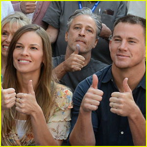 Channing Tatum & Hilary Swank Give Telluride Two Thumps Up