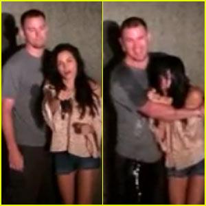 Channing Tatum & Jenna Dewan Accept the ALS Ice Bucket Challenge Together!
