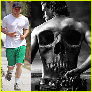 Charlie Hunnam Is Fully Loaded For 'Sons of Anarchy' Final Season Poster