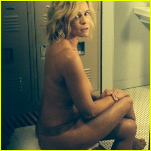 Chelsea Handler Poses Totally Topless, Proclaims 'I'm a Kardashian'