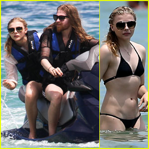 Chloe Moretz Makes a Splash in Her Bikini!