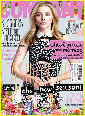 Chloe Moretz Talks Skating with Brooklyn Beckham in September 2014 'Company' Mag