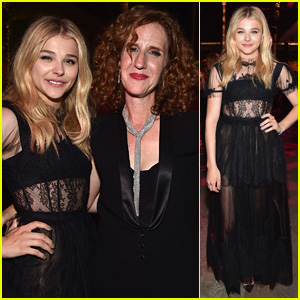 Chloe Moretz Switches Up Her Dress for 'If I Stay' Premiere Party