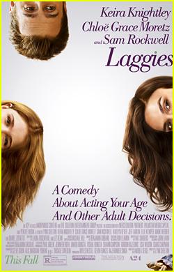 Keira Knightley & Chloe Moretz Go Sideways for New 'Laggies' Poster!