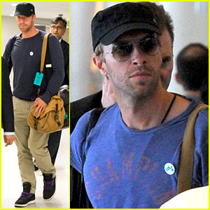 Chris Martin Returns Back to NYC After Romantic Date with Jennifer Lawrence