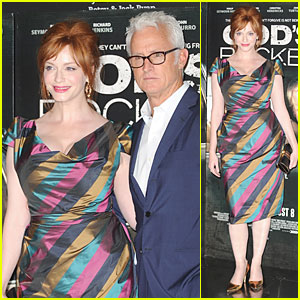 Christina Hendricks Recalls Being Bullied & Spit On During Teenage Years