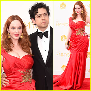 Mad Men's Christina Hendricks Is Red Hot at Emmys 2014!