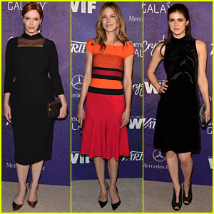Christina Hendricks & Michelle Monaghan Give Us Variety at Pre-Emmys Party