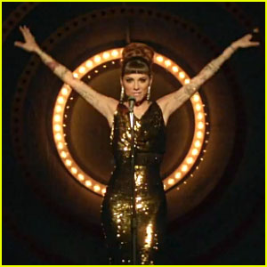 Christina Perri Catches Our Eye By 'Burning Gold' in New Music Video - Watch Now