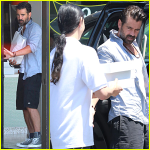 Colin Farrell Buys a Whole Lot of Doughnuts!