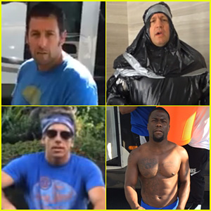 Comedians Adam Sandler, Kevin James, & More Get Soaked for the ALS Ice Bucket Challenge - Watch Here!