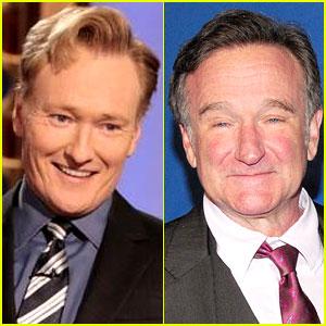Conan O'Brien Gives Robin Williams an On-Air Tribute (Video)