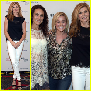 Nashville's Connie Britton & Laura Benanti Hit Up Kellie Pickler's 'Hear The Music, See The World' Show