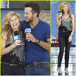 Connie Britton Smiles Wide For Luke Bryan's Cameo on 'Nashville'