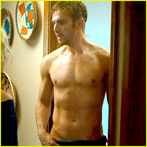 Downton Abbey's Dan Stevens Goes Shirtless for 'The Guest' & He is Looking Hot!