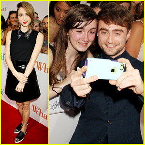 Daniel Radcliffe Comforts Crying Fan at 'What If' NYC Premiere