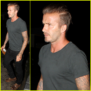 David & Victoria Beckham Dine Separately With Good Pals!