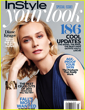 Diane Kruger to 'InStyle': I Want to Have Kids & Grow Old in Paris!