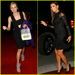 Diane Kruger & Eva Longoria Party with CAA Before the Emmys