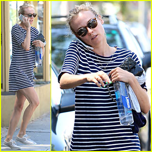 Diane Kruger Says Los Angeles Feels Like Vacation Sometimes