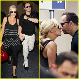Donnie Wahlberg Celebrates His 45th Birthday & Leans In for a Kiss with Fiancee Jenny McCarthy!