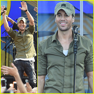 Enrique Iglesias Brings the House Down on 'GMA' with 'Bailando' & 'Hero' - Watch Now!