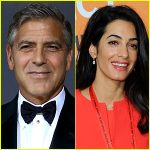 George Clooney & Amal Alamuddin Get Their Marriage License!