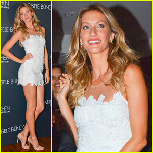 Gisele Bundchen Launches Her Intimates Lingerie Line in Brazil!