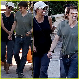 Halle Berry & Olivier Martinez Look So Happy Together Ahead of Her 48th Birthday!