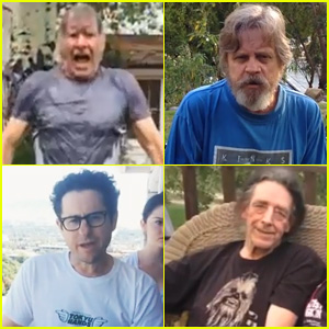 Harrison Ford & 'Star Wars' Cast Take on the ALS Ice Bucket Challenge!