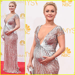 Hayden Panettiere Reveals She's Having a Baby Girl at Emmys 2014