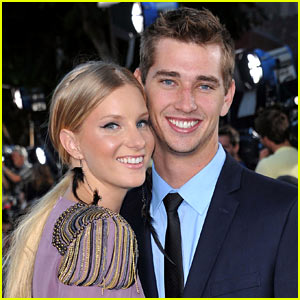 Glee's Heather Morris Reportedly Engaged to Taylor Hubbell!
