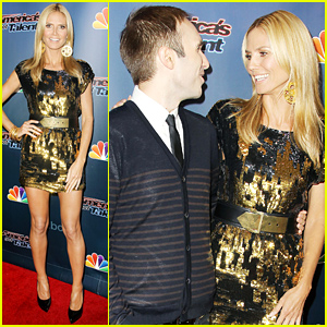 Heidi Klum Reunites with Taylor Williamson After Their Big Date!