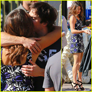 Ian Somerhalder & Nikki Reed Get In Some PDA at Teen Choice Awards 2014