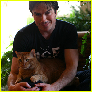 Ian Somerhalder Reveals His Brand New Baby - the ISF Sanctuary Project! (Exclusive)