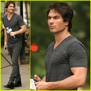 Ian Somerhalder & Nikki Reed Are Rumored to Be Living Together