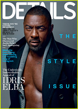 Idris Elba Strips Down for 'Details' Magazine Cover!