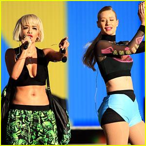 Iggy Azalea & Rita Ora Rock the Fashion at Made in America!