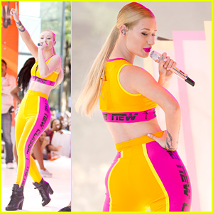 Iggy Azalea Performs 'Fancy' on 'Today', Announces She'll Perform 'Black Widow' at VMAs with Rita Ora!