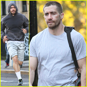 Jake Gyllenhaal Looks Great Even with Facial Injuries for 'Southpaw' Filming in the Bronx!
