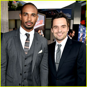 Jake Johnson & Damon Wayans Jr. Leave Their Uniforms at Home for 'Let's Be Cops' Premiere!
