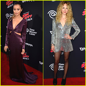 Juno Temple & Jamie Chung Bring Sexy To 'Sin City 2' Premiere in Hollywood