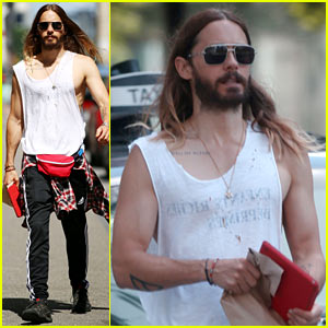 Jared Leto Always Looks So Hot in His Tank Tops!