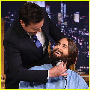 Jimmy Fallon Shaves Jared Leto's Beard on 'The Tonight Show'!